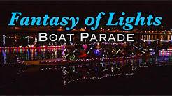 Fantasy of Lights Boat Parade - Tempe Town Lake