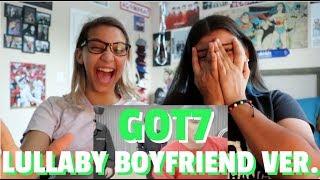 GOT7 'Lullaby' Dance Practice (Boyfriend Ver.) REACTION!!!