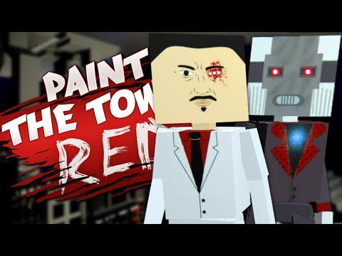 SUPER EVIL CO'S NEW ROBOT - Best User Made Levels - Paint the Town Red
