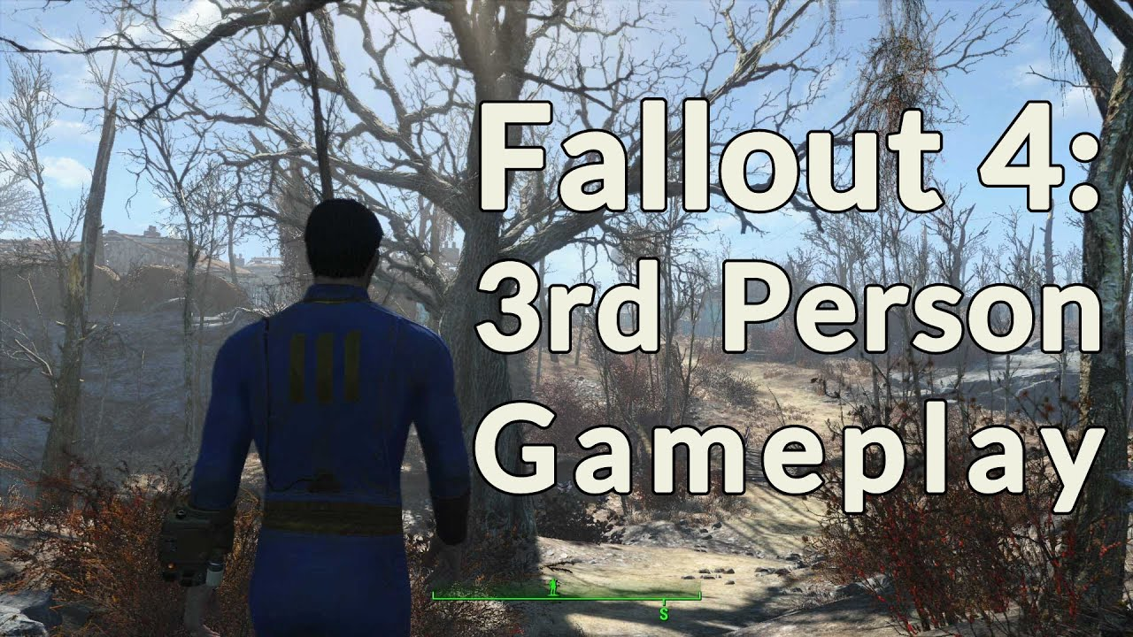 how to go third person fallout 4