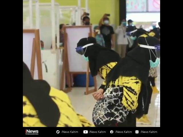 Partisipasi Puskesmas Handil Baru di Pasar Kuala Samboja