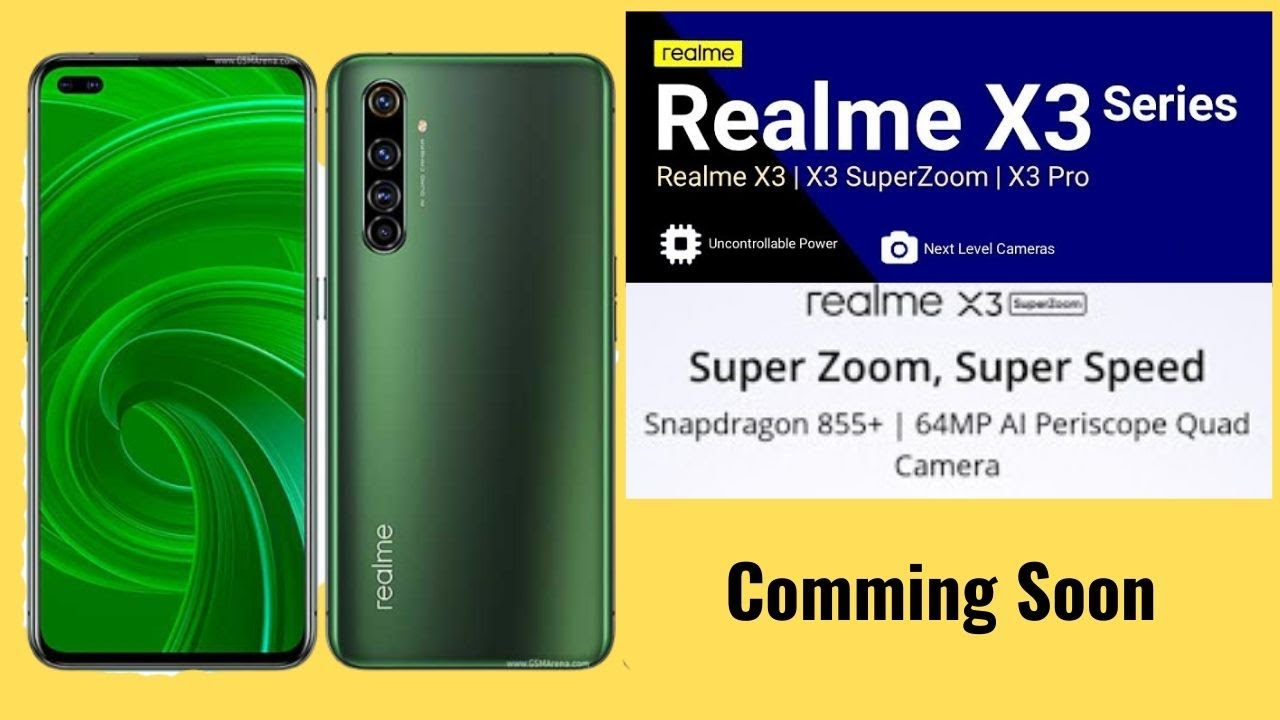 Realme X3 Super Zoom Specification In India And Pakistan Price