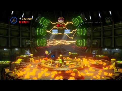 LEGO Marvel Super Heroes 100% Guide #10 - That Sinking Feeling (All 10 Minikits, Stan Lee in Peril)