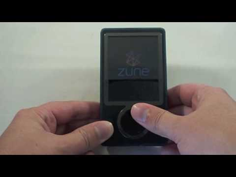 How to Reset a 30GB Zune
