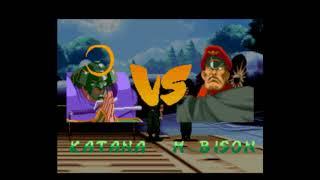 Street Fighter Alpha 2 (SNES)- Katana (Sodom) Playthrough 1/2