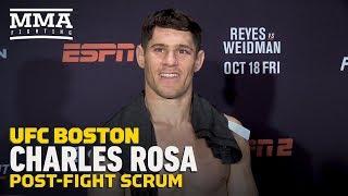 UFC on ESPN 6: Charles Rosa Tells Manny Bermudez 'Start Getting Discipline'  - MMA Fighting