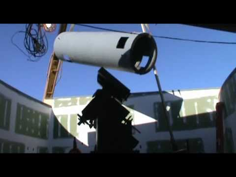 Oberle Telescope Installation at Observatory Park