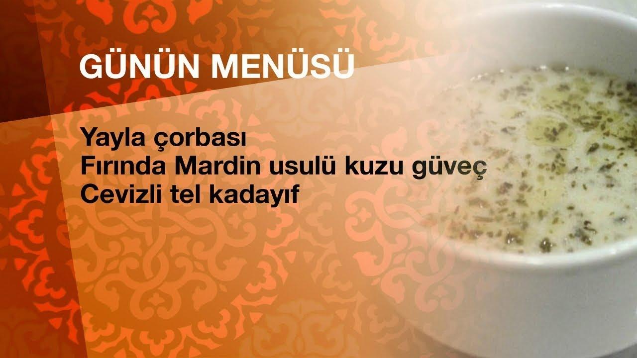 Günün iftar menüsü - Can Oba ile Ramazan Tatları 18.05.2019 Cumartesi