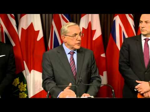 PRESS CONFERENCE Auditor General Report Minister of Energy Dec 2014