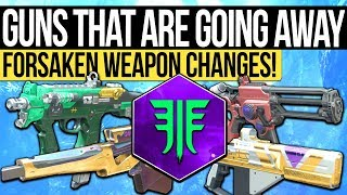 Destiny 2 | THESE WEAPONS ARE GOING AWAY! - Year One Exclusive Weapons Explained & What to Get NOW!