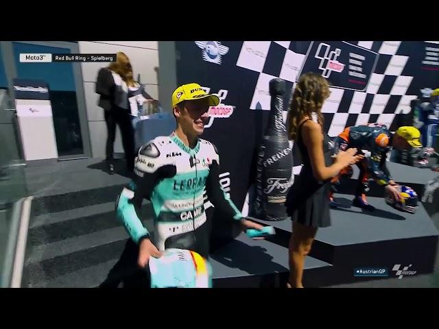 2016 #AustrianGP | Full Moto3 Race
