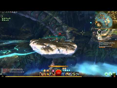 GW2 Heart Of Thorns: Epic Mouth Of Mordremoth Boss Fight [Dragon Stand]