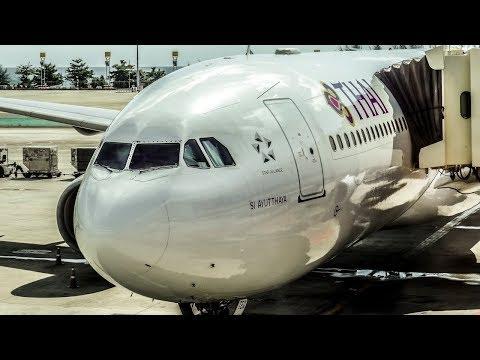 THAI AIRWAYS FLIGHT REVIEW | Airbus A330-300 | Bangkok (BKK) – Phuket (HKT)