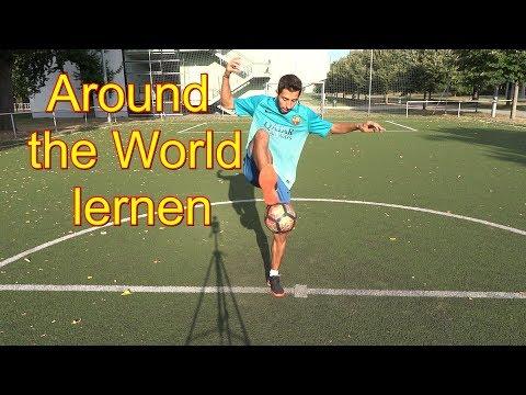 Ronaldinho Fußball /Around The World Lernen, Tipps, Erklärung, Technik, Wie Machen Trick