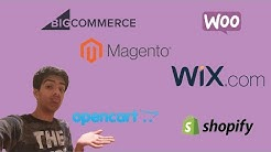 Wix vs Shopify vs WooCommerce vs BigCommerce vs Magento vs OpenCart