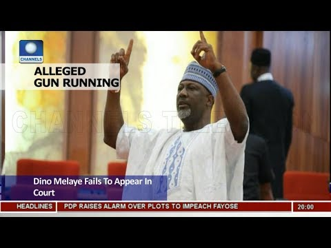 Dino Melaye Fails To Appear In Court