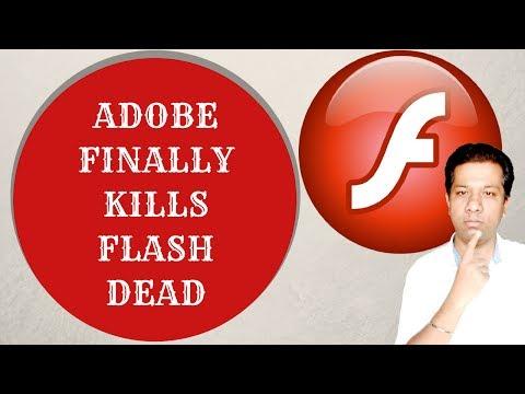 Google, Mozilla, Apple, Microsoft and Facebook  Saying goodbye to Adobe Flash Player; Why?RIP  Flash