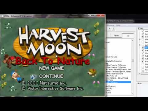 Tutorial Install Dan Cheat Harvest Moon Back To Nature