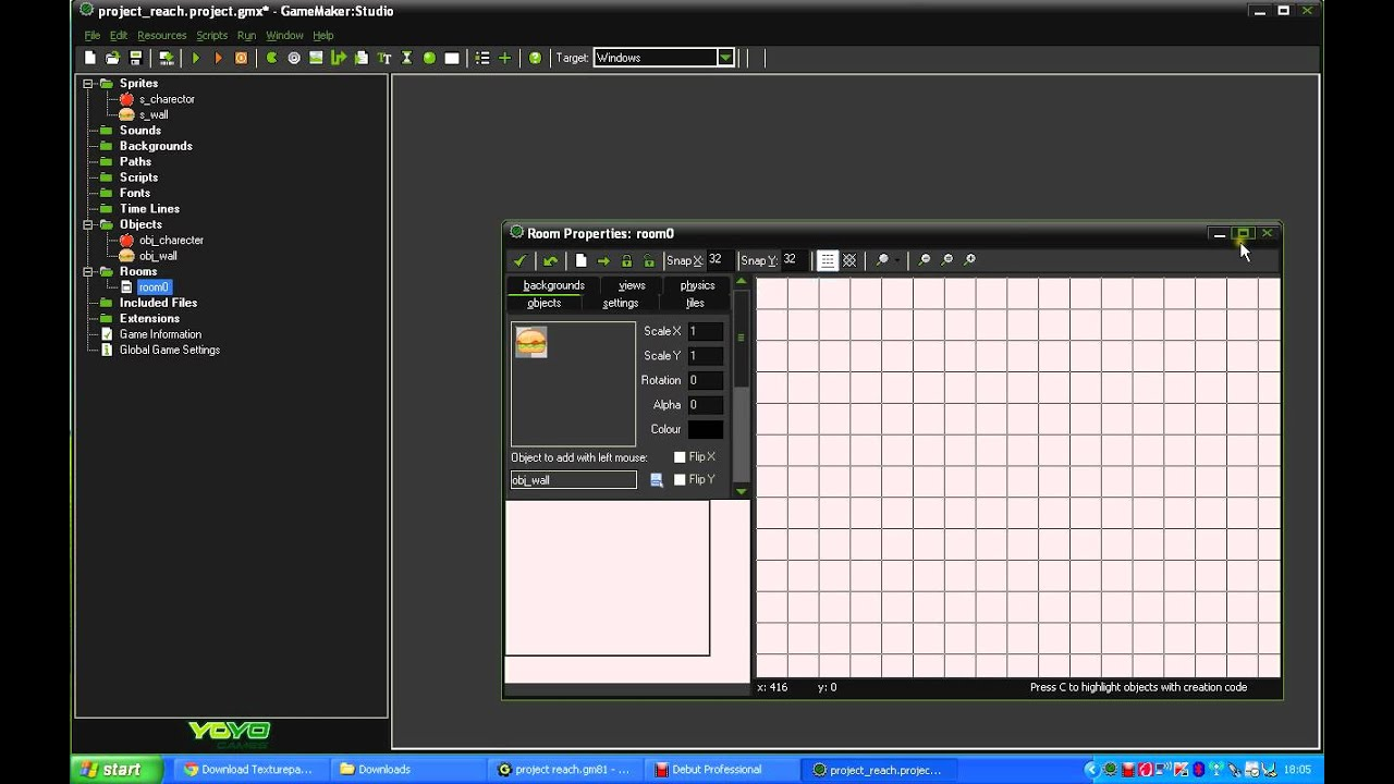 How To Make A Simple Game In Game Maker Studio Youtube