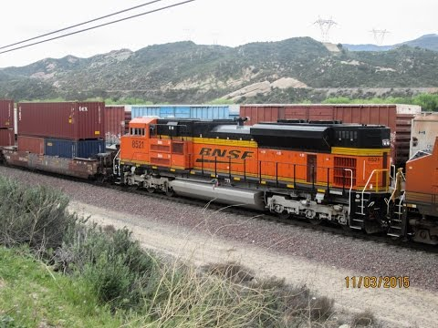 Railfanning Cajon Pass and West Colton 3/11/2015 featuring BNSF UP SP