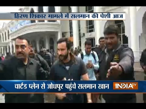 Blackbuck Case: Saif Ali Khan, Sonali Bendre, Tabu Arrive in Jodhpur for Court Hearing