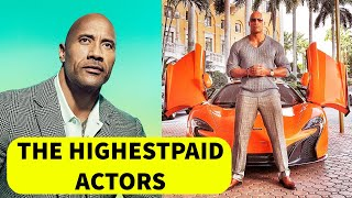 THE HIGHEST-PAID ACTORS  2019