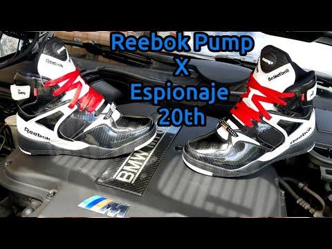 Reebok Pump Bringback×Espionaje 20th ¿hypebeast? Solo 31 pares fabricados.