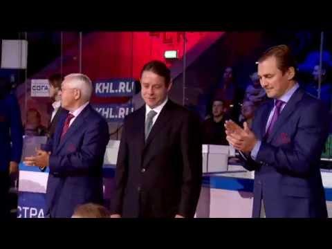 Pavel Bure banner night / Чествование Павла Буре в ЛДС ЦСКА