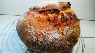 Вы удивитесь КАК ПРОСТО испечь хлеб ХЛЕБ БЕЗ ЗАМОРОЧЕК Хлеб в духовке Самый Простой Рецепт хлеба