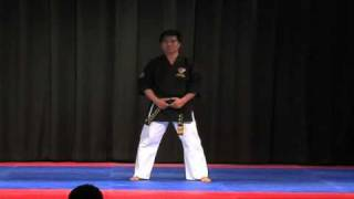 7th Dan Exam, Pt 3 - Black Belt Poom Sae