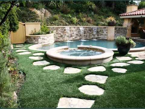 artificial grass design samples