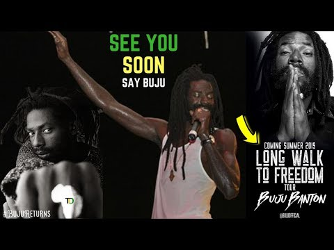 JAMAICA the FIRST STOP on BUJU BANTON'S 2019 Walk To Freedom Tour