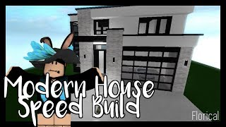 ROBLOX Modern House F3X Speed Build ~
