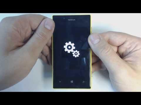 Nokia Lumia 720 hard reset