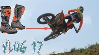 Motocross riding at Dornoland and getting new boots! | Vlog 17