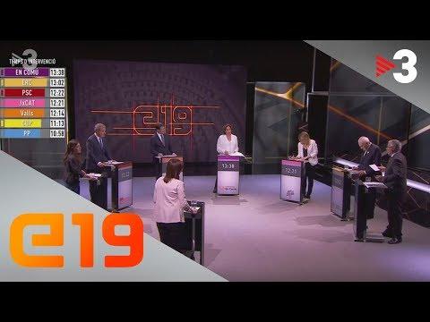 Eleccions municipals: el debat de la ciutat de Barcelona