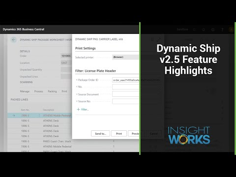 Dynamic Ship v2.5 Feature Highlights