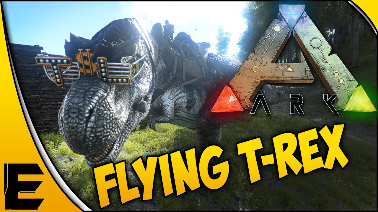 Ark survival evolved gameplay flying t rex and a new home ark survival evolved gameplay flying t rex and a new home part 24 youtube malvernweather Choice Image