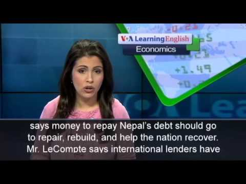 Aid Group Calls For Debt Cancellation For Nepal