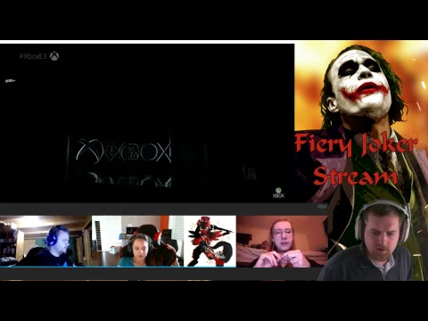 Fiery Joker E3 2017 Commentary Part 2: Microsoft
