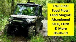 ABANDONED SILO! Trail riding, & Land management tour!