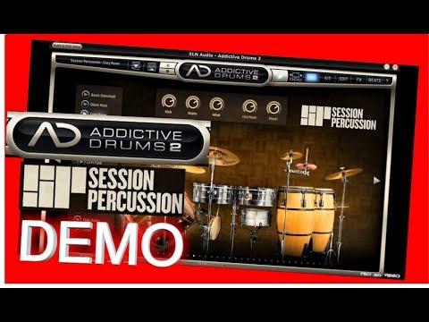 SESSION PERCUSSION Adpak Demo - Addictive Drums 2 - XLN audio