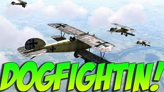 Rise Of Flight Gameplay - True Dogfighting