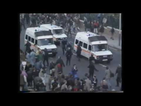Poll Tax Riots Brixton October 1990 (BBC & ITN News Reports)