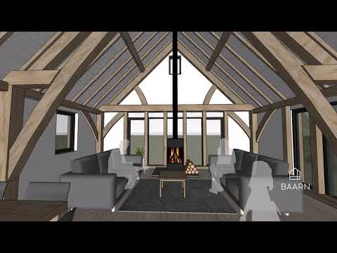 BAARN Loft House – explore this kit house