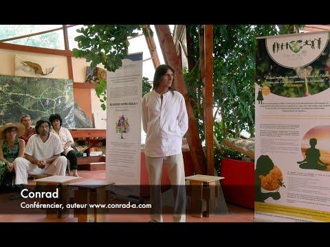 Conrad au festival pour l'école de la vie 2015