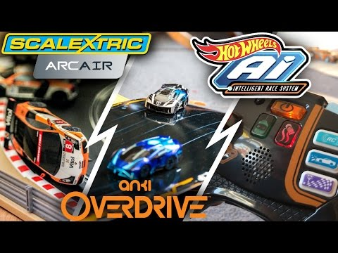 3 Intelligent Racing Sets Tested – Anki, Hotwheels & Scalextric