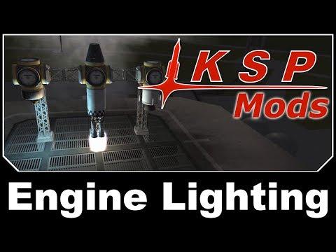 KSP Mods - Engine Lighting Relit