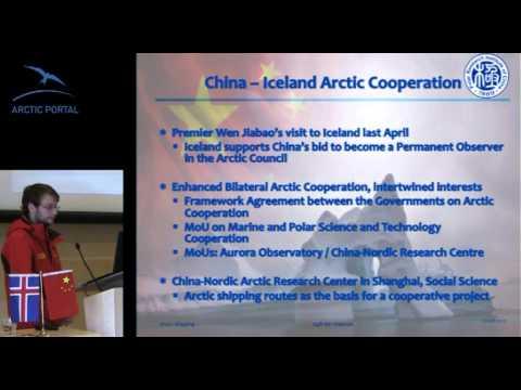 Egill Þór Níelsson: Arctic shipping and China-Iceland Arctic cooperation