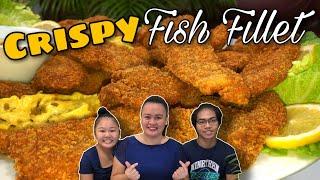 HOW TO COOK CRISPY FISH FILLET  TAMBOK RECIPE